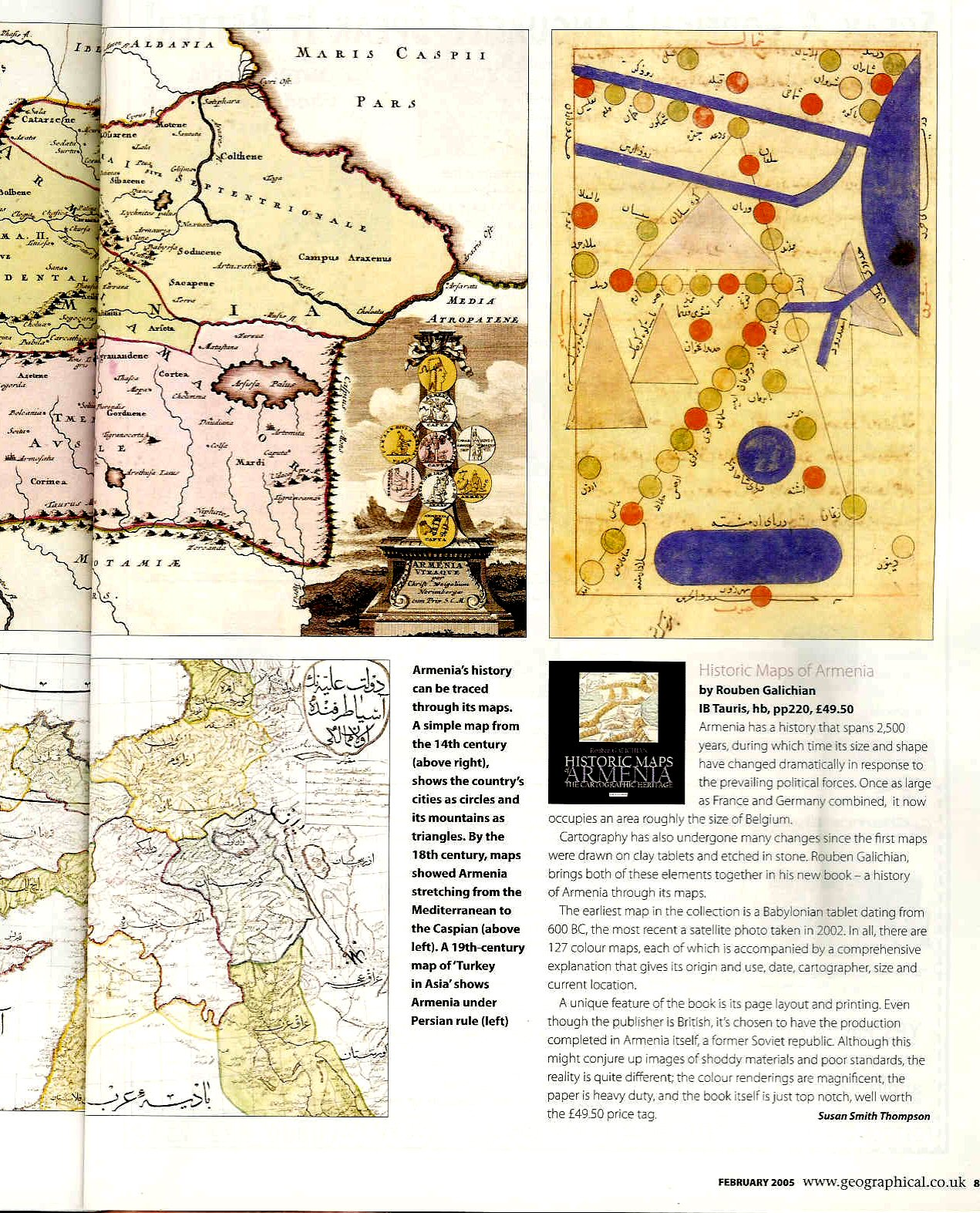 Book review published in Geographical Magazine